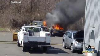 Incendios de BMW por ABC News campaña
