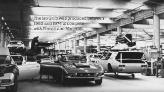 Iso Grifo historia vídeo deportivo italia