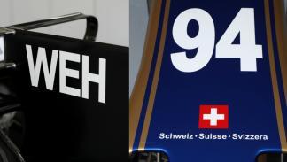 El número e iniciales de Wehrlein en el Sauber un poco minimalistas