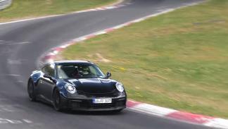 El Porsche 911 2019 ya rueda en Nürburgring
