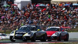 Porsche 911 GT3 Cup en Montmeló