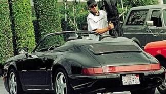 El Porsche Carrera del año de la tana de George Clooney