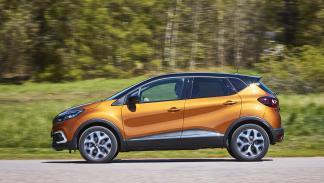 Renault Captur 2017 en color Naranka Atakama
