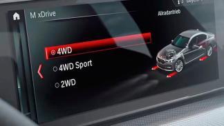 Tracción M xDrive BMW M5 trasera total