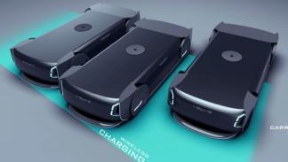 Volvo Autonomous Carrier plataforma de carga