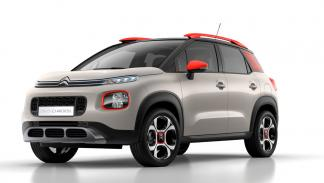 citroën c3 aircross frontal