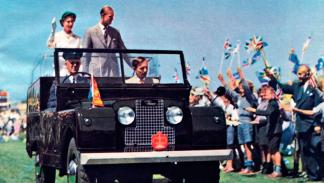 Land Rover Series I Reina de Inglaterra