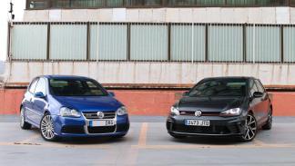 Volkswagen Golf R32 y GTI Clubsport motor v6 compacto deportivo