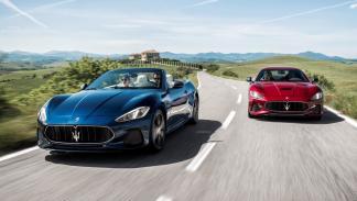 Maserati GranTurismo y GranCabrio 2017