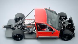 Alfa Romeo 164 ProCar sleeper deportivo sedán competición Formula 1