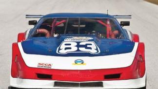 El Chevrolet Corvette V8 con el que Newman ganó su última carrera