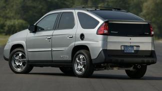 Coches más feos: Pontiac Aztek Rally (IV)