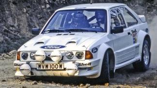 Los coches de rally más brutales de todos los tiempos - Ford Escort RS 1700T