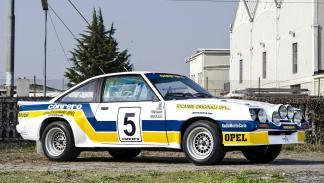 Los coches de rally más brutales de todos los tiempos - Opel Manta 400