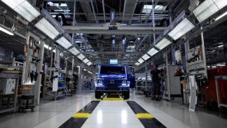 Mercedes Clase G fabrica 300.000