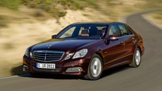 Mercedes Clase E segunda mano sedán lujo