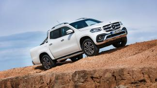 Mercedes Clase X pick-up pickup lujo SUV