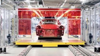 Porsche 911 Targa 4GTS 999.999 deportivo efemeride producción fábrica