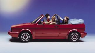 Coches para ser el rey de la playa - Volkswagen Golf Cabriolet