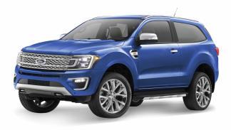 Ford Bronco (tres puertas)