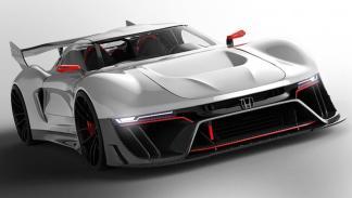 El onírico Honda Invisus, un superdeportivo para soñar