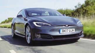 Chris Harris conduce el Tesla Model S P100D