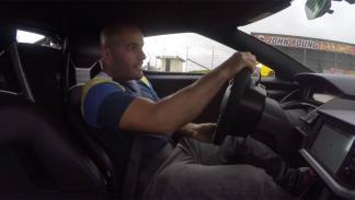 Chris Harris con el Ford GT 2016