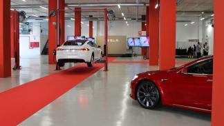 Concesionario Tesla en España taller