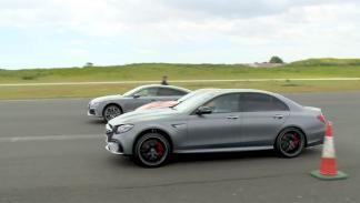 Drag Race: Mercedes-AMG E63, Audi RS7, Nissan GT-R