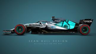 El Mercedes 2018 de Sean Bull