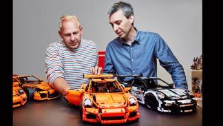 Porsche 911 GT3 RS Lego (creadores)