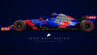 El Toro Rosso 2018 de Sean Bull