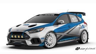 Los brutales Focus que llevará Ford al SEMA Show 2017