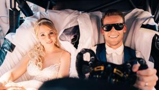 Coches de boda: Mercedes AMG DTM (III)