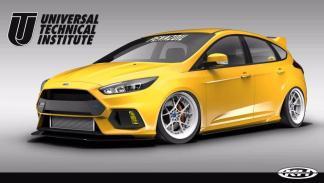 Ford Focus RS y ST SEMA 2017