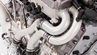 Motor a escala de un Bugatti Chiron (II)