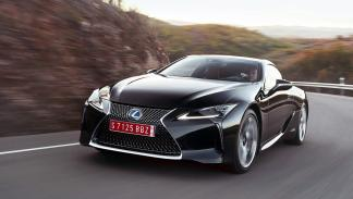 10 deportivos más lentos que el camión de Tesla - Lexus LC 500h
