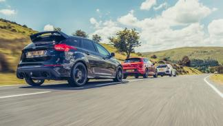 Comparativa Honda Civic Type R, Ford Focus RS, Volkswagen Golf R, Seat León Cupra (2)