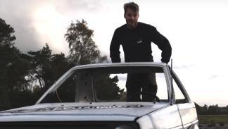 El Golf más pequeño del mundo haciendo 'caballitos'... marcha atrás