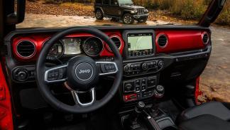 Interior Jeep Wrangler 2018