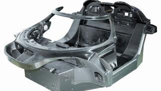 Monocasco de carbono del Koenigsegg Agera