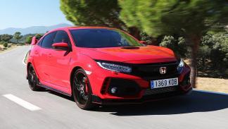 Prueba del Honda Civic Type R 2017