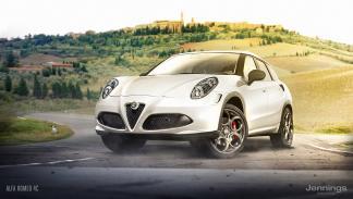 Un Alfa Romeo 4C convertido en SUV