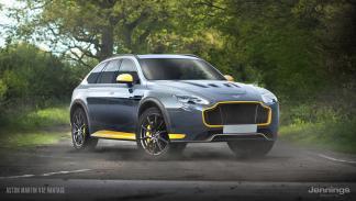 Un Aston Martin Vantage convertido en SUV