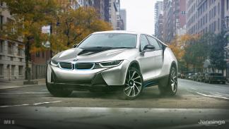 Un BMW i8 convertido en SUV
