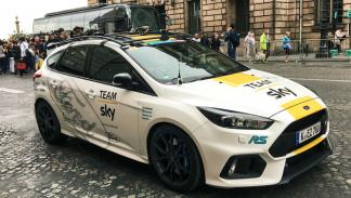 Los coches del Team Sky: Ford Focus RS