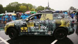 Los coches del Team Sky: Jaguar F-Pace