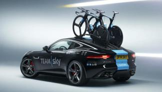 Los coches del Team Sky: Jaguar F-Type