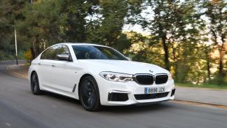 Prueba BMW M550i sedán deportivo lujo
