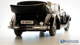 Zaga del Mercedes-Benz 770K Grosser Offener Tourenwagen de Hitler